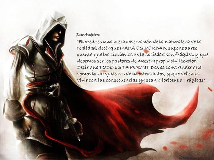 Nada Es Verdad Ezioauditore Assassinscreed Assassinscreed Assassins Assassin Ac Assassinscre Assassins Creed Assassins Creed Quotes Assassin S Creed