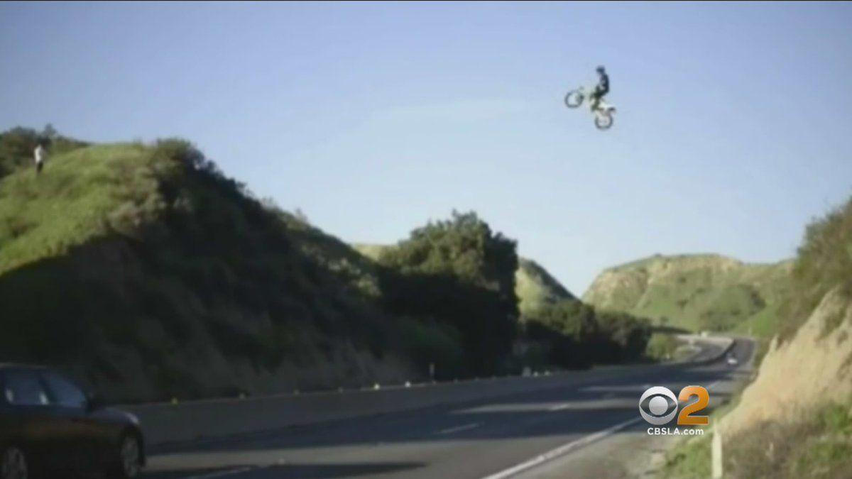 DRUDGE REPORT 2017®   Oddities   Bike rider, California highway