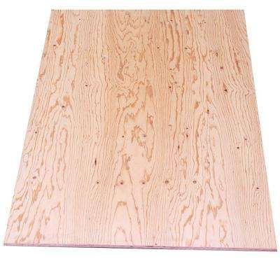 Sheathing Plywood Common 15 32 In X 4 Ft X 8 Ft Actual 0 438 In X 48 In X 96 In Sheathing Plywood Types Of Plywood Plywood