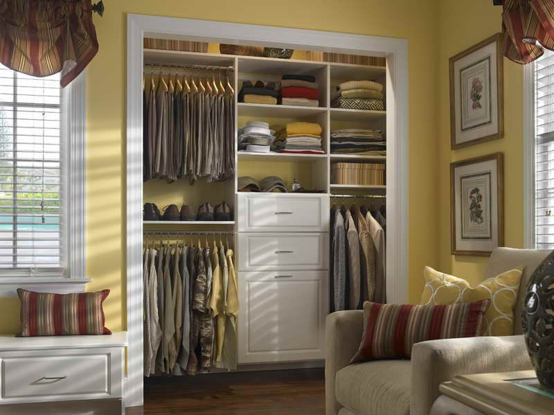 Most People Have Small Closets That Can Sometimes Present Issues With  Storage. Check Out These Small Closets With Great Tips For Optimizing Space.