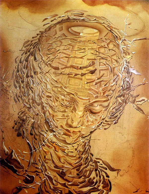 Head Exploding, 1951 by Salvador Dali #dali #paintings #art   Dali ...