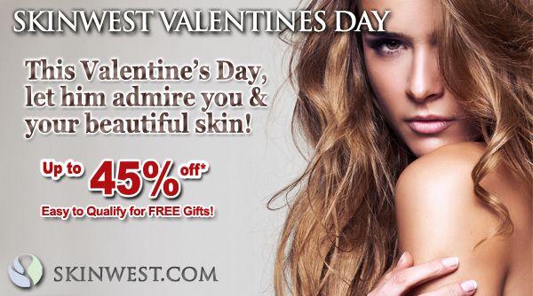 Email newsletter Valentines Day banner