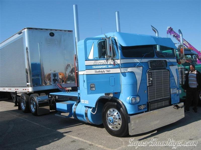 Cool Cabover Trucks, Vehicles, Custom big rigs