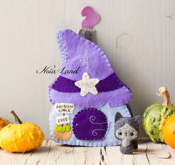 Witch cottage soft book. Soft book #witchcottage