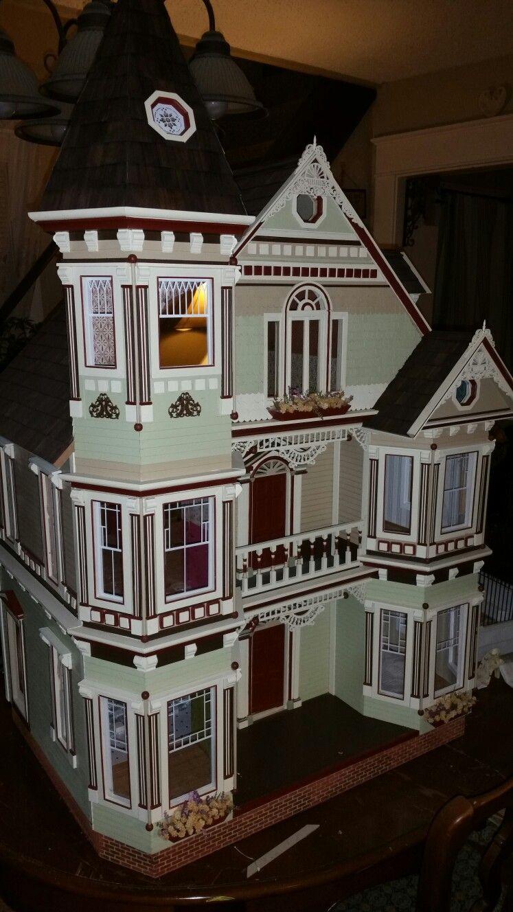 Colleen's Victorian dollhouse #victoriandolls