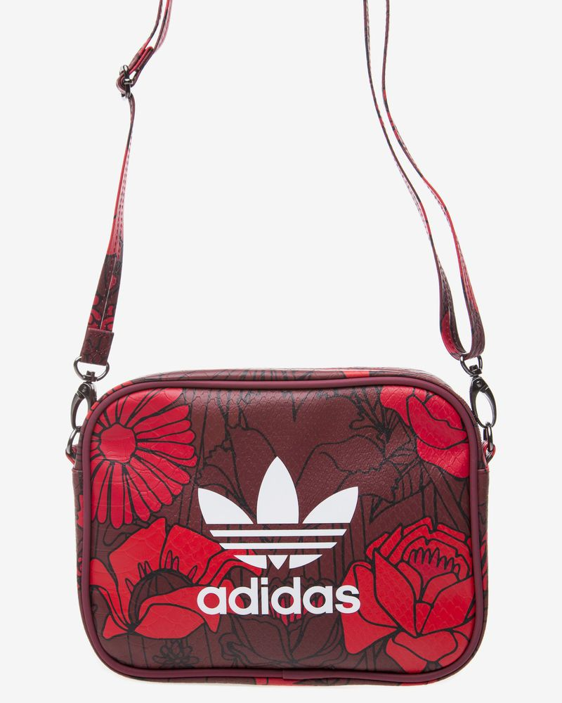 Adidas Originals Red Bags - Women's Airliner Clutch Shoulder Strap  Crossbody #adidasoriginals #MessengerShoulderBagCrossbodyAirlinerClutch