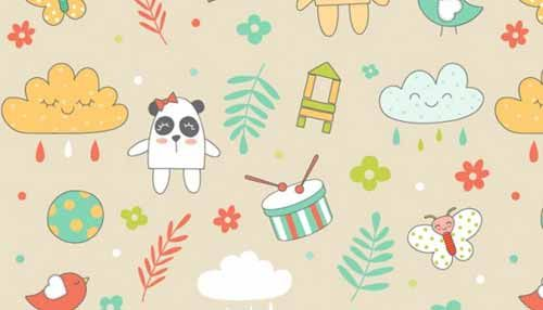 100 Cute Seamless Baby Background Patterns Background Patterns Background Design Baby Design