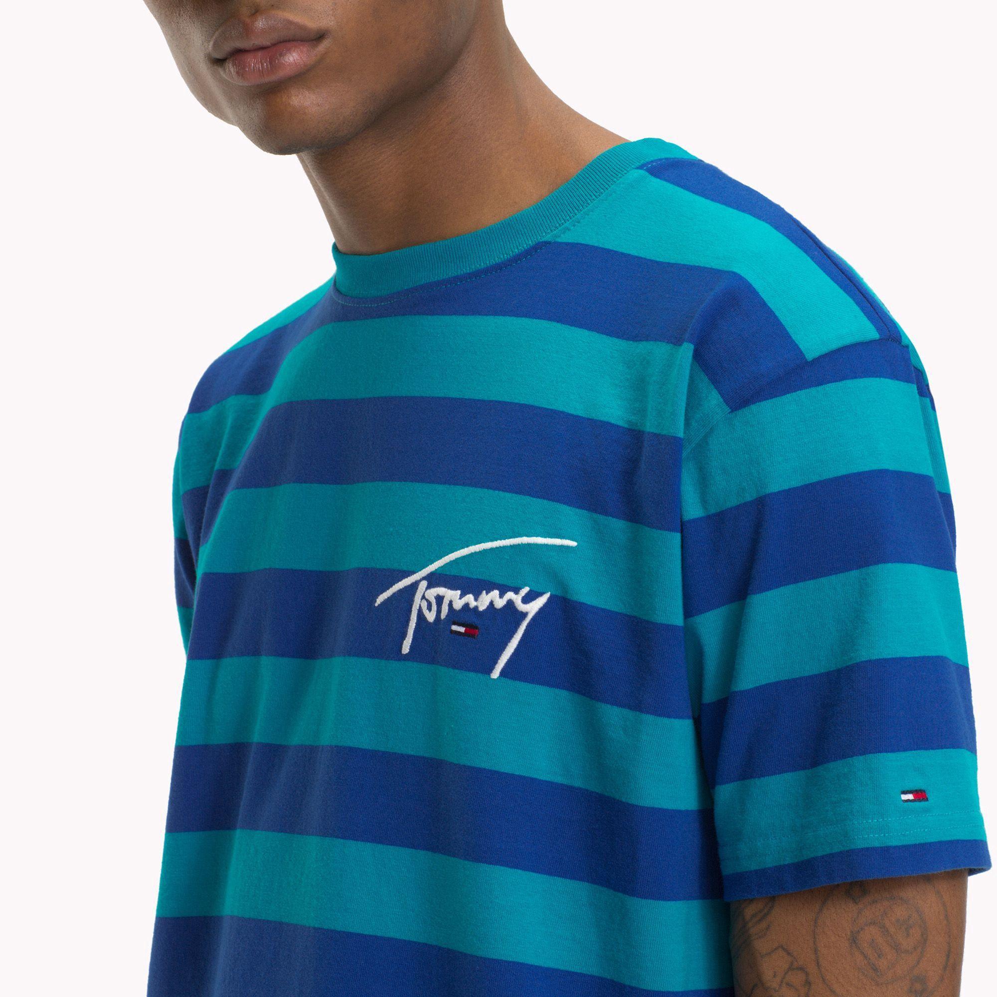 33cc9d784f Tommy Jeans Xplore Signature Stripe T-Shirt by Tommy Hilfiger ...
