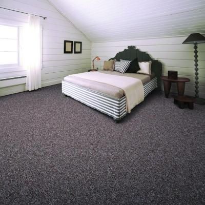 Trendy Threads I Color Oakmont Texture 12 Ft Carpet