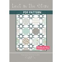 Lost in the Stars Downloadable PDF Quilt PatternMoira de Carvalho Patterns