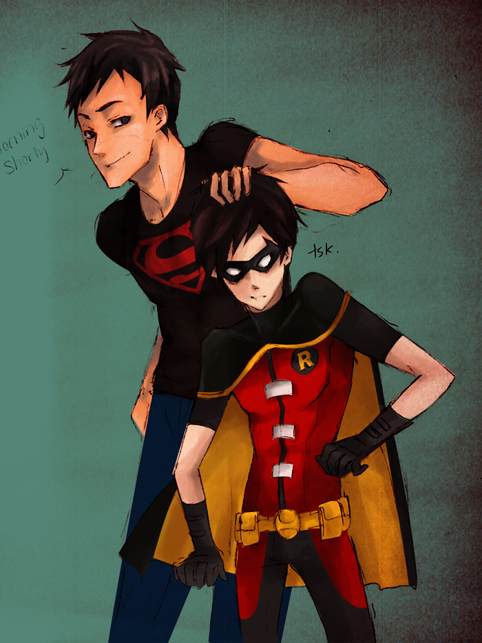 YJ: Superboy and Robin by muraito | Comics, Cartoons and ...