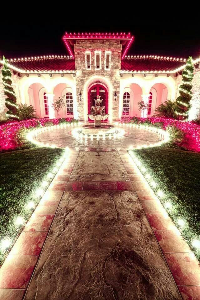 Christmas Lights Ideas Outside House