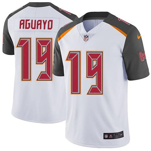 ad0a0366 Nike Buccaneers #19 Roberto Aguayo White Men's Stitched NFL Vapor  Untouchable Limited Jersey And nfl shop