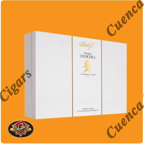 Davidoff Winston Churchill Robusto Cigars - Box of 20 - Price: $304.90