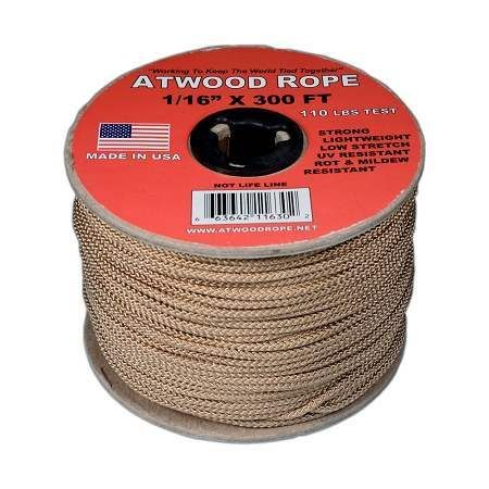Tan 1 16 Mini Cord 300 Feet With Images Paracord Planet Mini Paracord