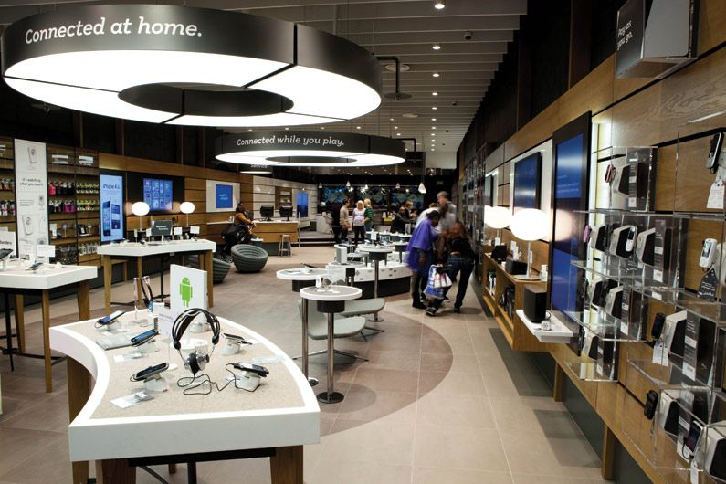 We are The One Off, we specialise in retail interior store design, working  with EE, Speedo and Samsung, find out more about retail store design here.