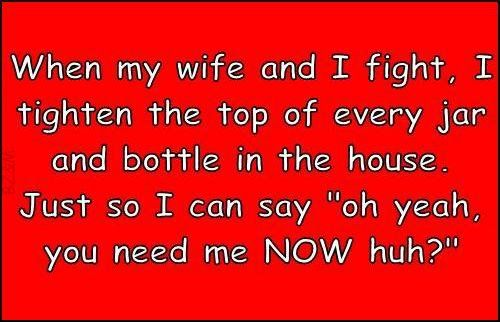 Funny Husband Quotes From Wife Fight Quotes Funny Quotes My