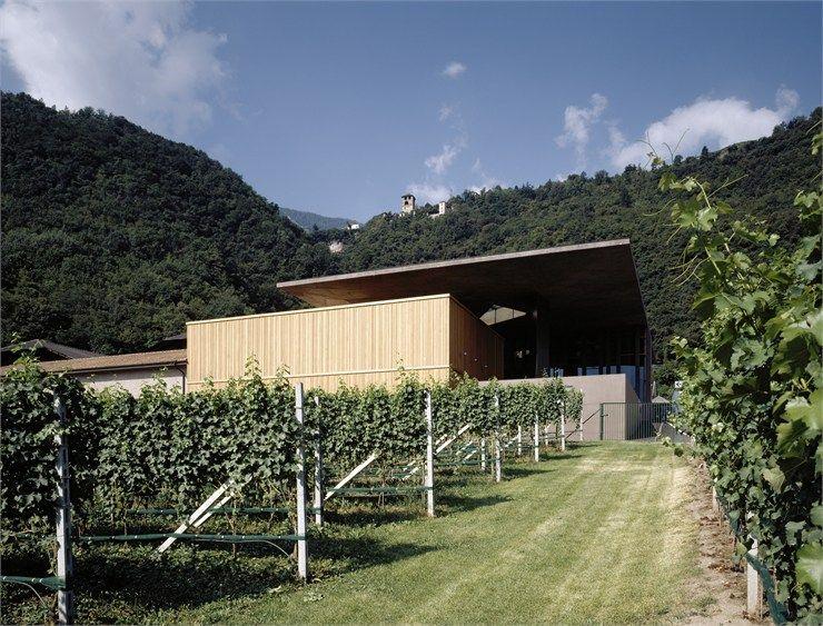Nals-Margreid, Cellar, by Markus Scherer (Merano, Bz) Italy.