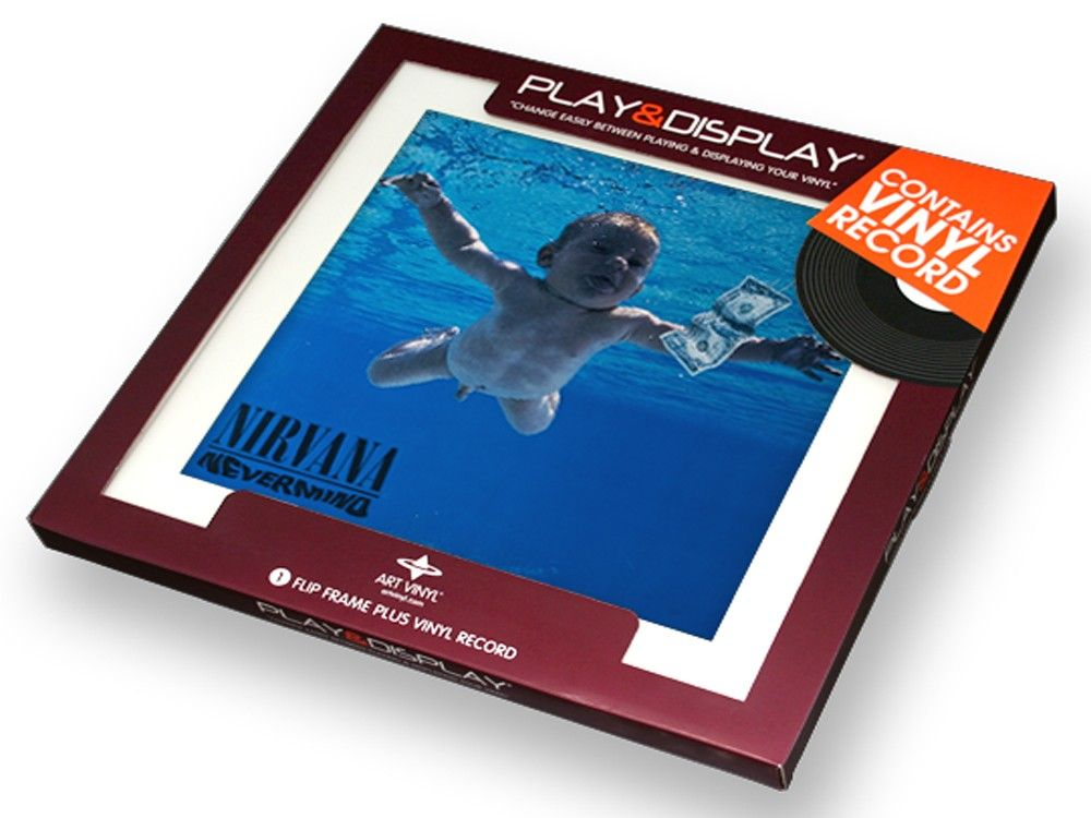 Nirvana - Nevermind - Art Vinyl Play & Display Gift Pack with White ...