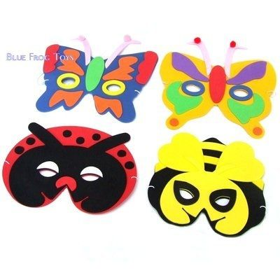 Girls Unicorn Mask Foam EVA Fancy Dress Kids Party Bag Favour Filler Toy
