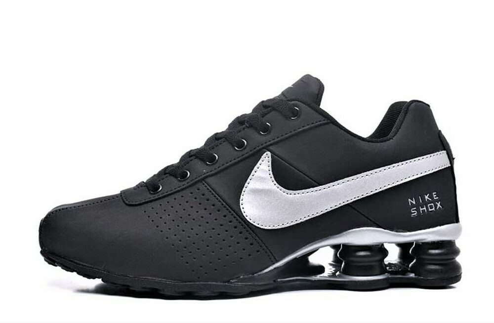 cheaper 67907 b3d00 Men's Nike Shox Deliver Black and Silver #fashion #clothing ...