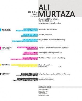 Resume Inspiration 30 Of The Best Resume Designs Resume Design