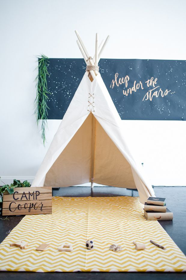wild one birthday prop cabin camping decor Boys Buffalo Check Teepee tent for toddlers woodland nursery  or baby shower decor