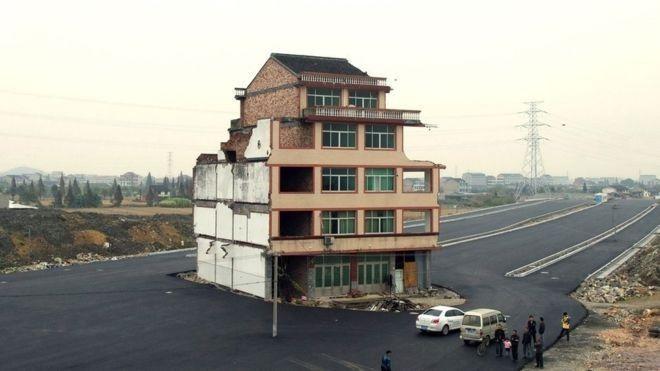 Nail House, China