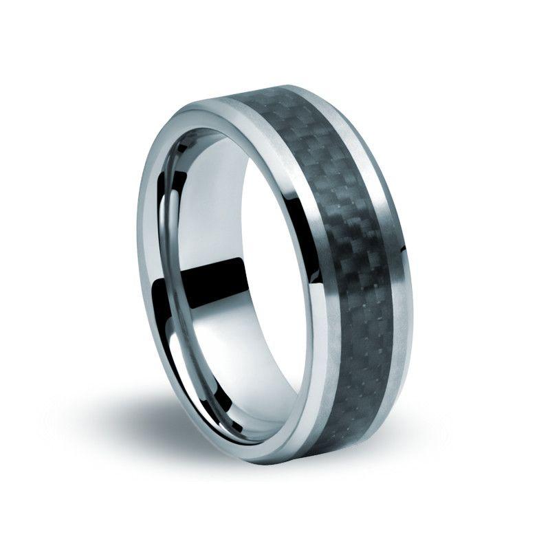 Tungsten Carbide Carbon Fibre Ring Zaffre Jewellery Carbon Fiber Rings Tungsten Carbon Fiber Ring Tungsten Carbide Rings