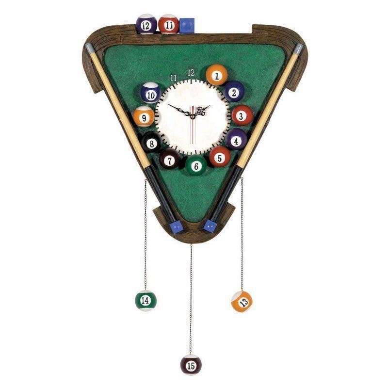 Billiards Decorative Wall Clock - R445