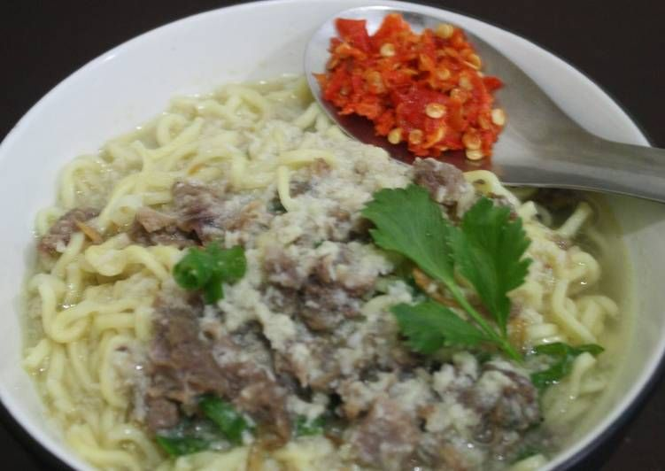 Resep Mie Kuah Bangka Oleh Nani Yusuf Resep Resep Masakan Masakan Cabai Rawit