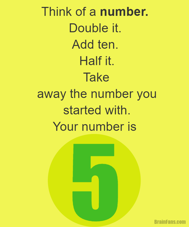 Brain teaser kids riddles logic puzzle brain teaser for kids brain teaser kids riddles logic puzzle brain teaser for kids with answer think of a number double it add ten half it fandeluxe Choice Image