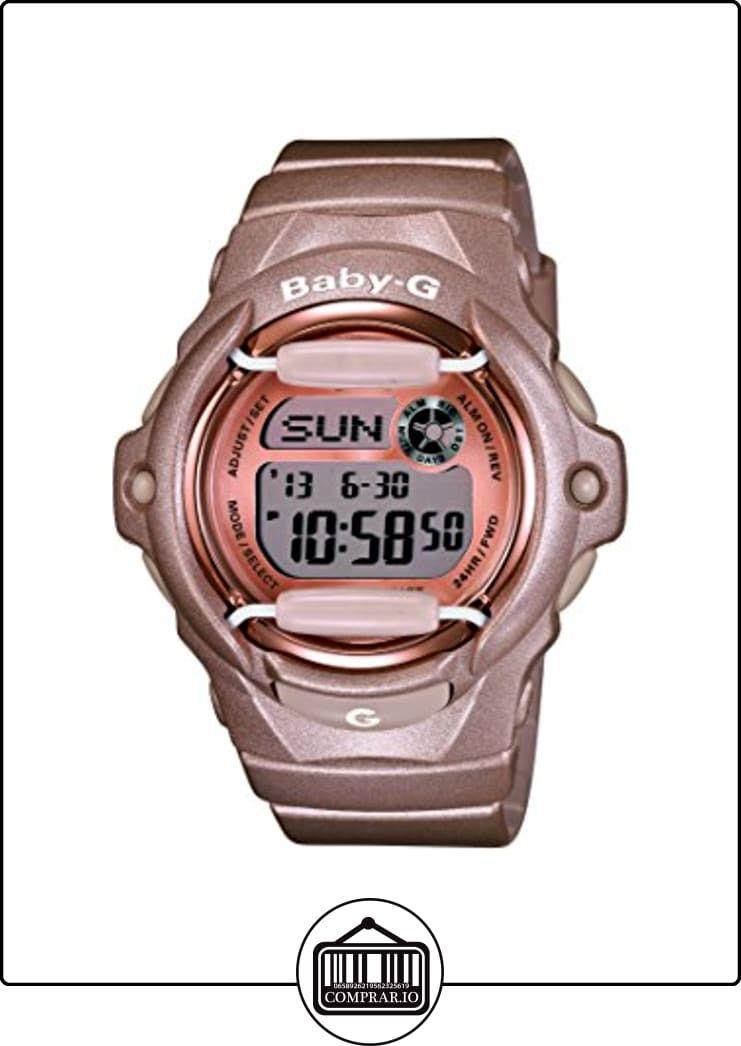 c120cff3b886 Casio Baby-G BG-169G-4ER - Reloj digital de cuarzo para mujer ...