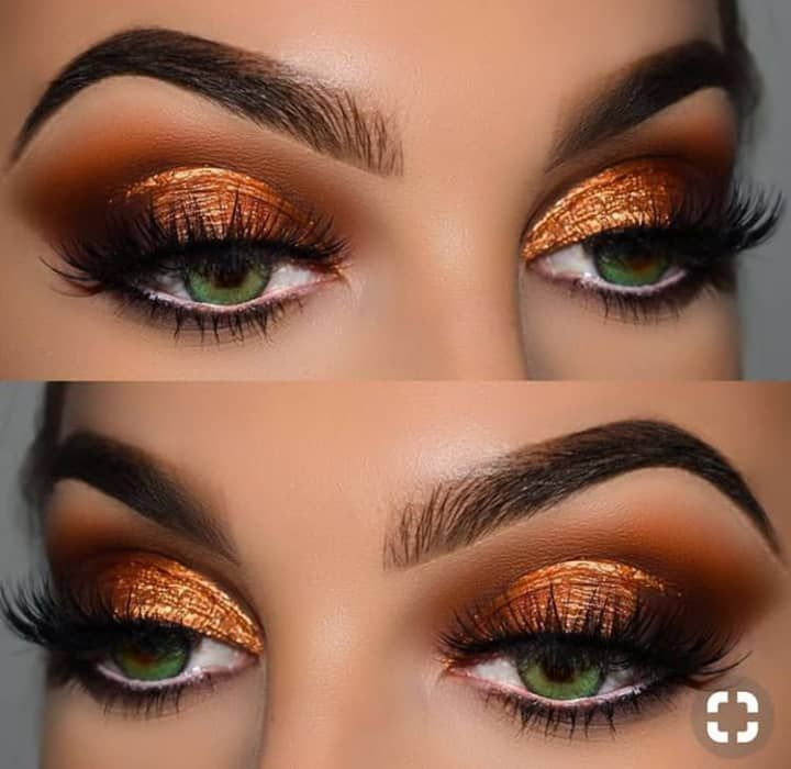 Pin By Lilo Fox On Glam Make Up In 2020 Makeup Copper Eye