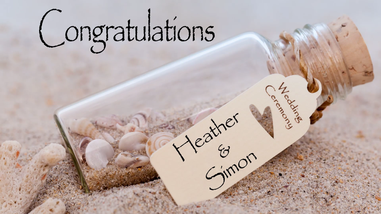 This beach themed wedding gift is quick and easy to make! | Wedding ...