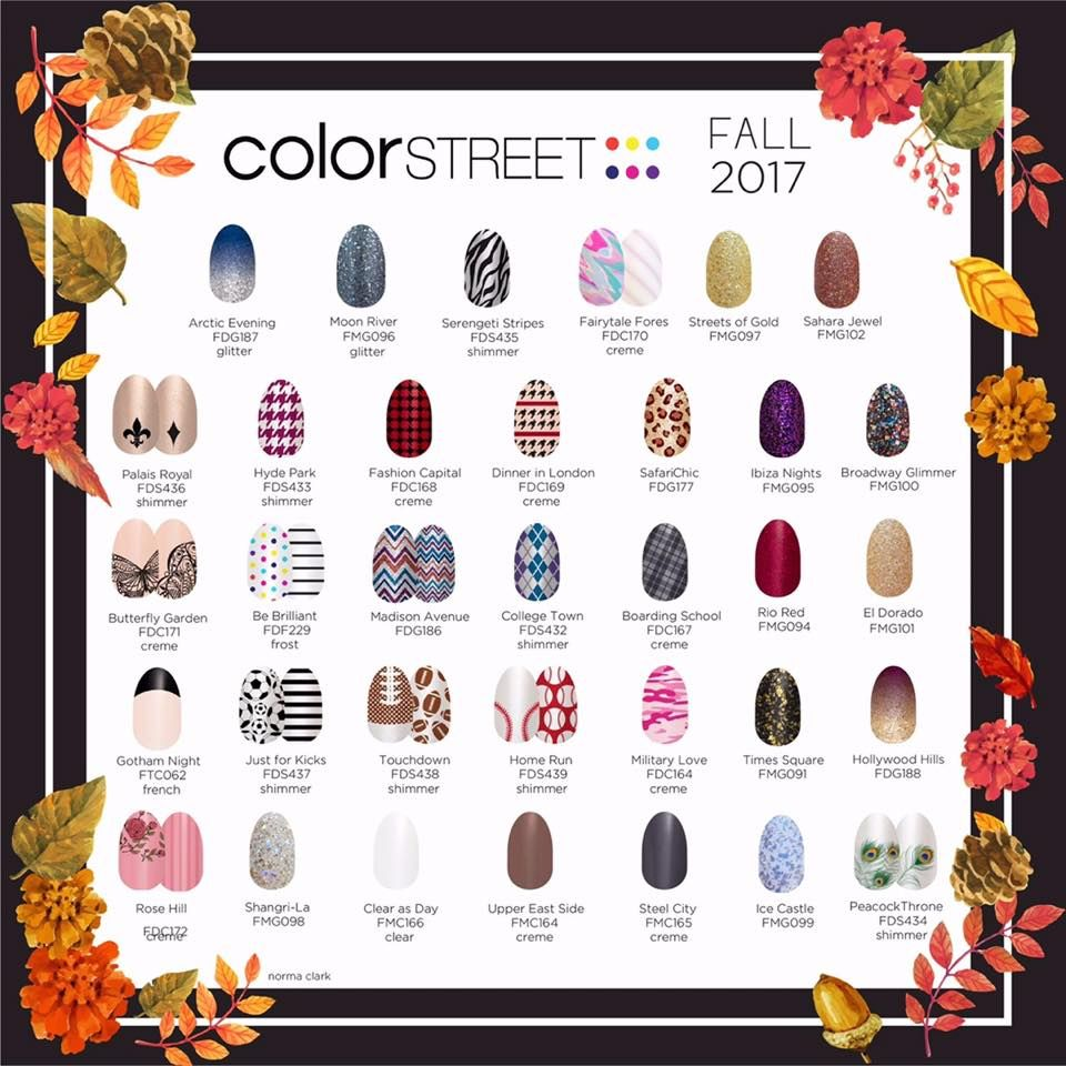 Fall designs! | Color street, Color street nails, Fall ...