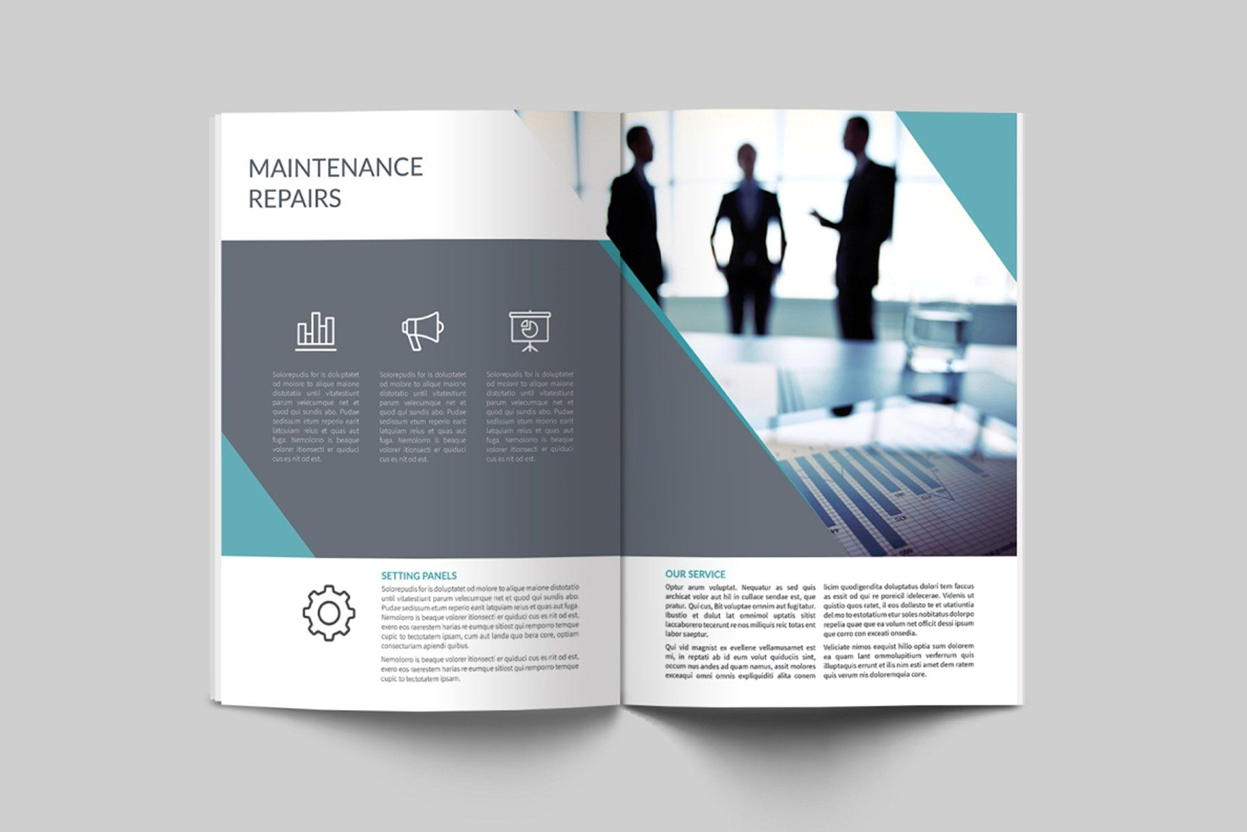 Biotechnology Brochure #studio#Features#Adobe#extended