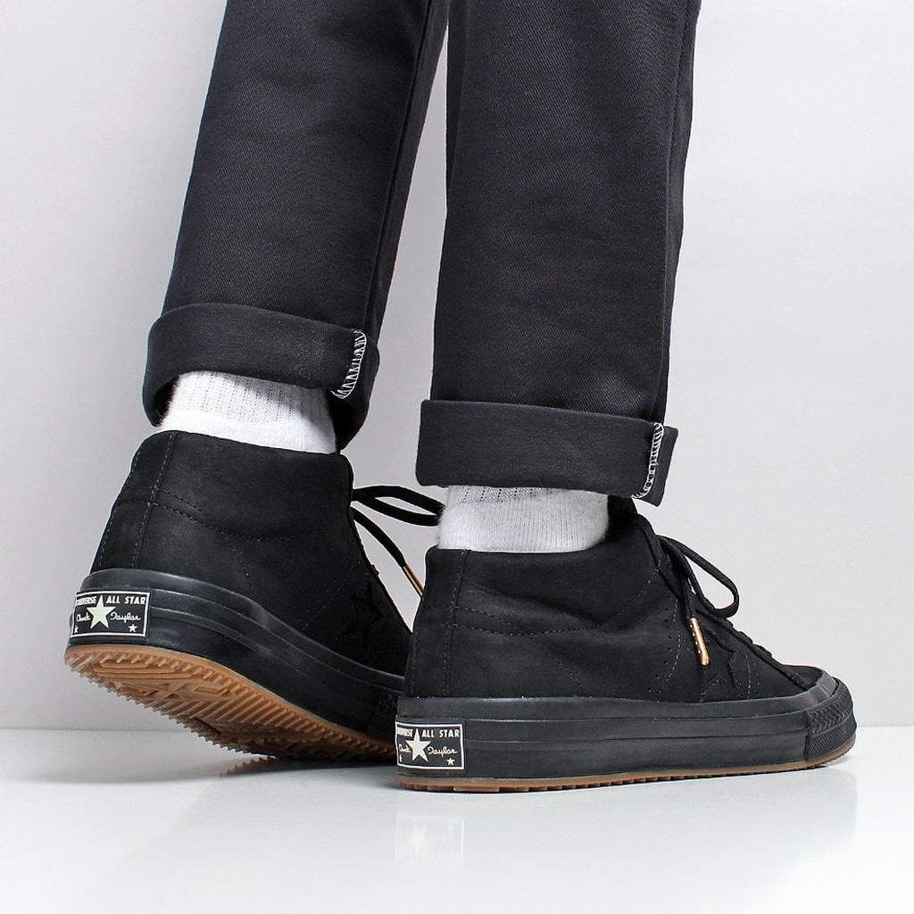 Star Mid Counter Climate Shoes - Black