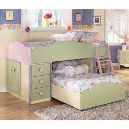 Best Ashley Furniture Doll House Loft Bed 899 00 I Wish I 400 x 300