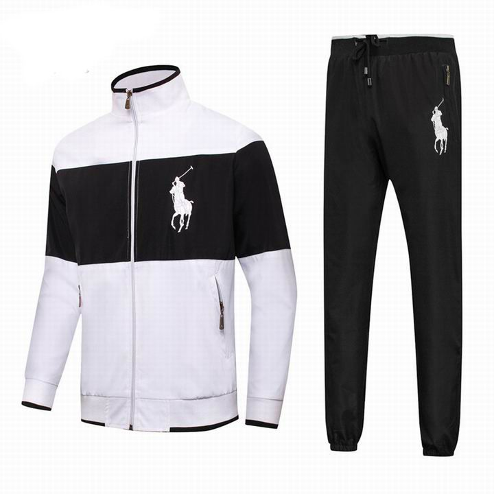 Polo Ralph Lauren Men\u0027s Tracksuit White Black