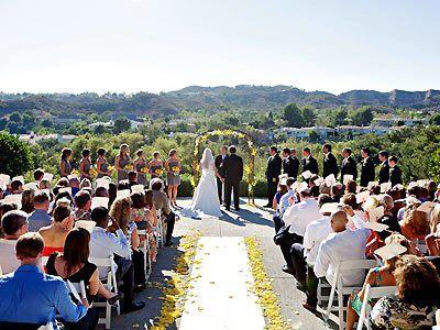 Coto De Caza Golf And Racquet Club California Wedding Venues 1 Outdoor ReceptionBudget