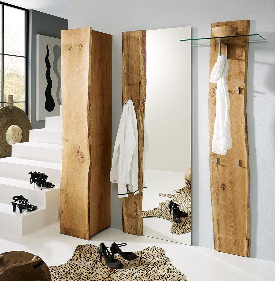 Garderobe Loca In 2020 Garderobe Eiche Garderobe Holz Und