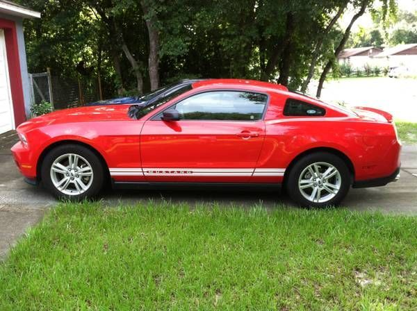 Check Out This 2012 Ford Mustang Race RedImage....