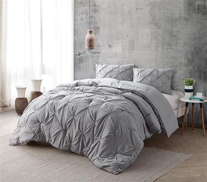 Alloy Pin Tuck Twin Xl Comforter Dorm Comforters
