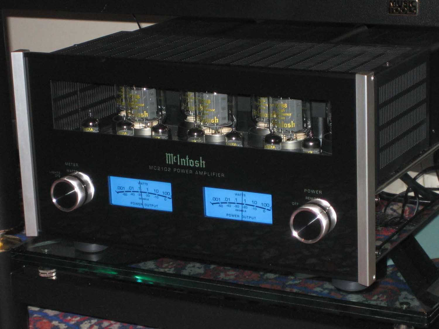 Mcintosh Tube Amp Maybe One Day High End Audio Audio Audio Equipment