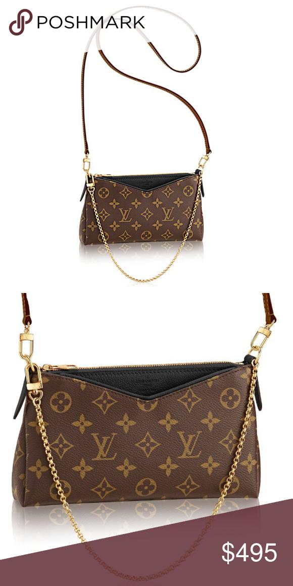 c2f10b5d1c5d Louis Vuitton Pallas Bag. Clutch Sling Bag Used a few times. Pristine  condition! Louis Vuitton Bags Crossbody Bags