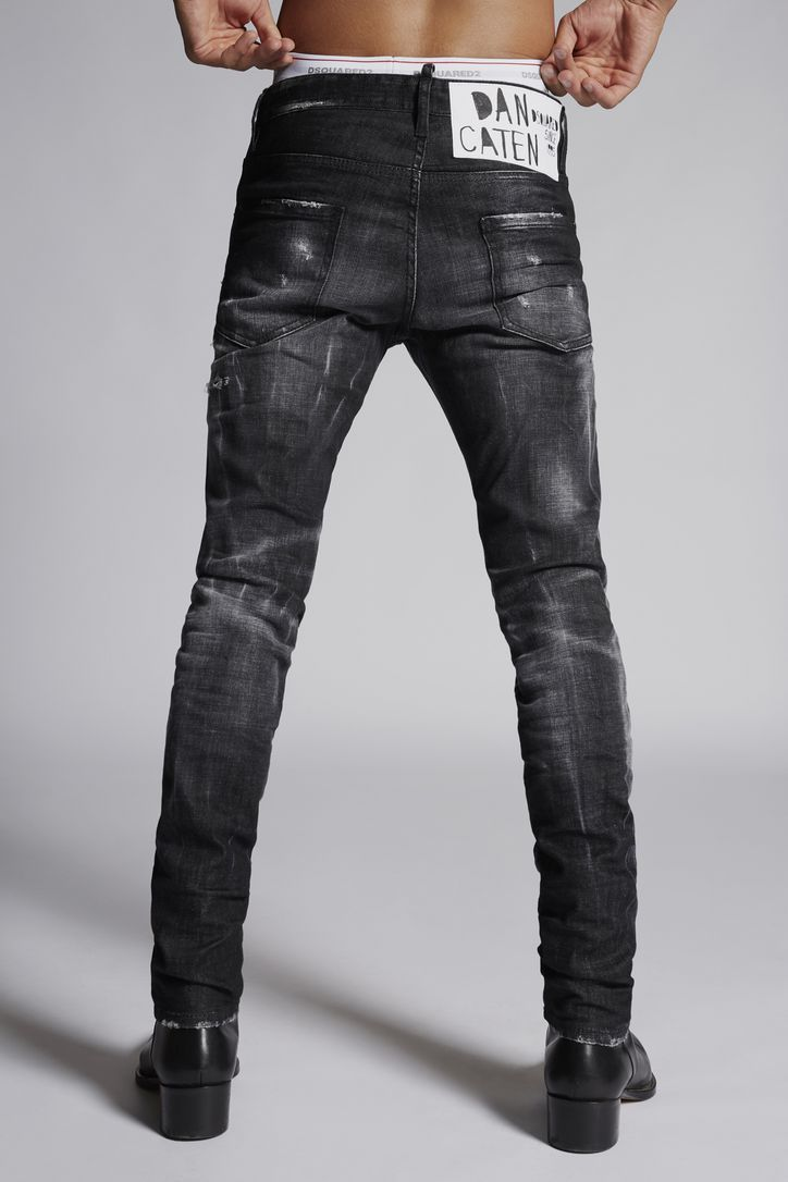 Black Denim Cool Guy Jeans in 2020 | Denim jeans men ...