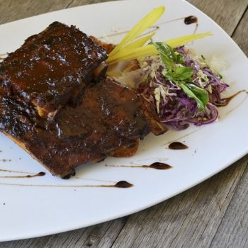 Baby Back Ribs. Pair with Nº 78 Cabernet Sauvignon
