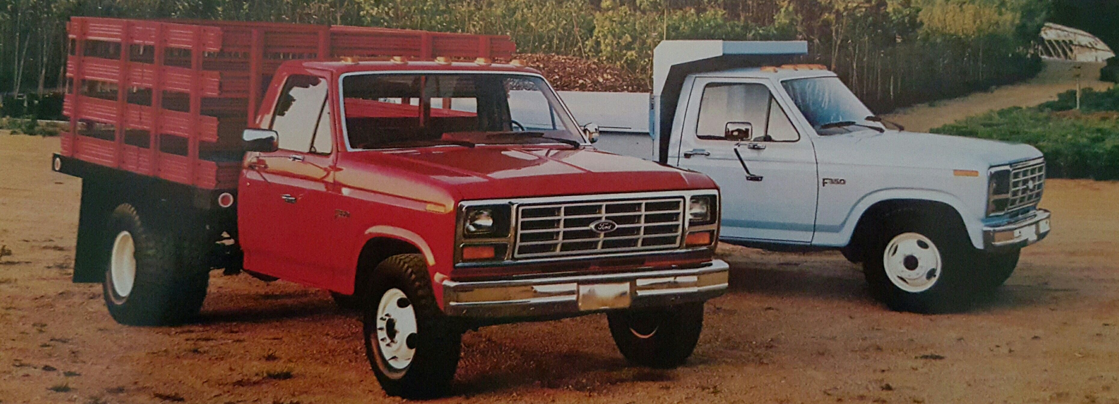 1984 ford f350 chassis cab