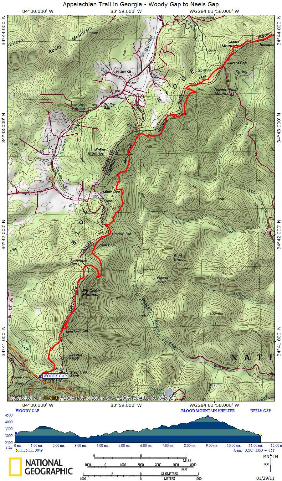 topographic map of appalachian mountains Pin On Hiking And The At